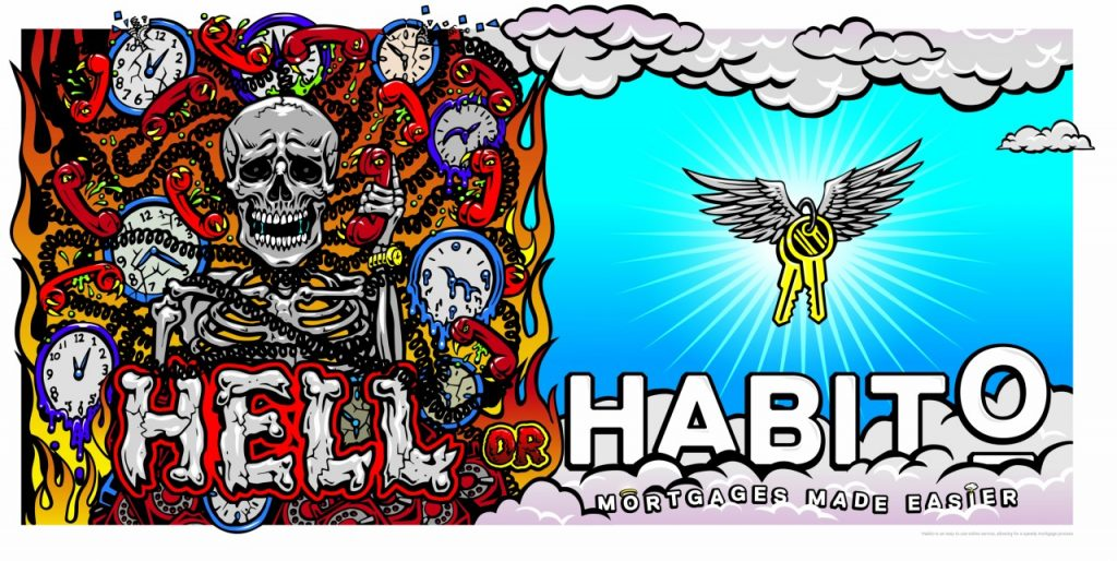 Hell or Habito Campaign Marketing Image